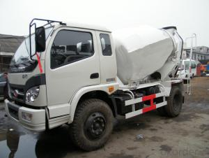 Mini Concrete Mixer Truck Zjk603uh03f Best Seller