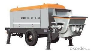 Stationary Concrete Pump HBT80-18-110S Best Seller