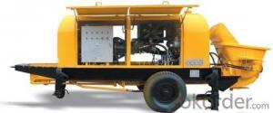 Stationary Concrete Pump from HBT40 to HBT100