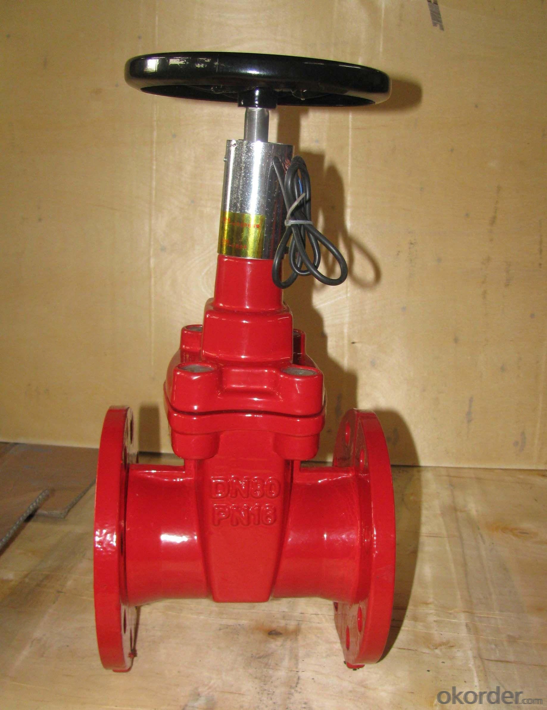 Gate Valve with Ductile Iron Pipe for Water System