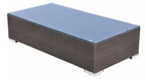 Flat Rattan Garden Sofas Set BD-1005 Beige