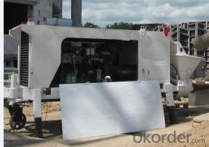 Stationary Concrete Pump 50D Best Seller