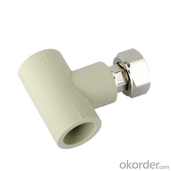 High   Quality  Threaded union with tee for water heater