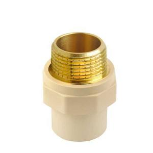 High  Quality   male coupling  brass threaded