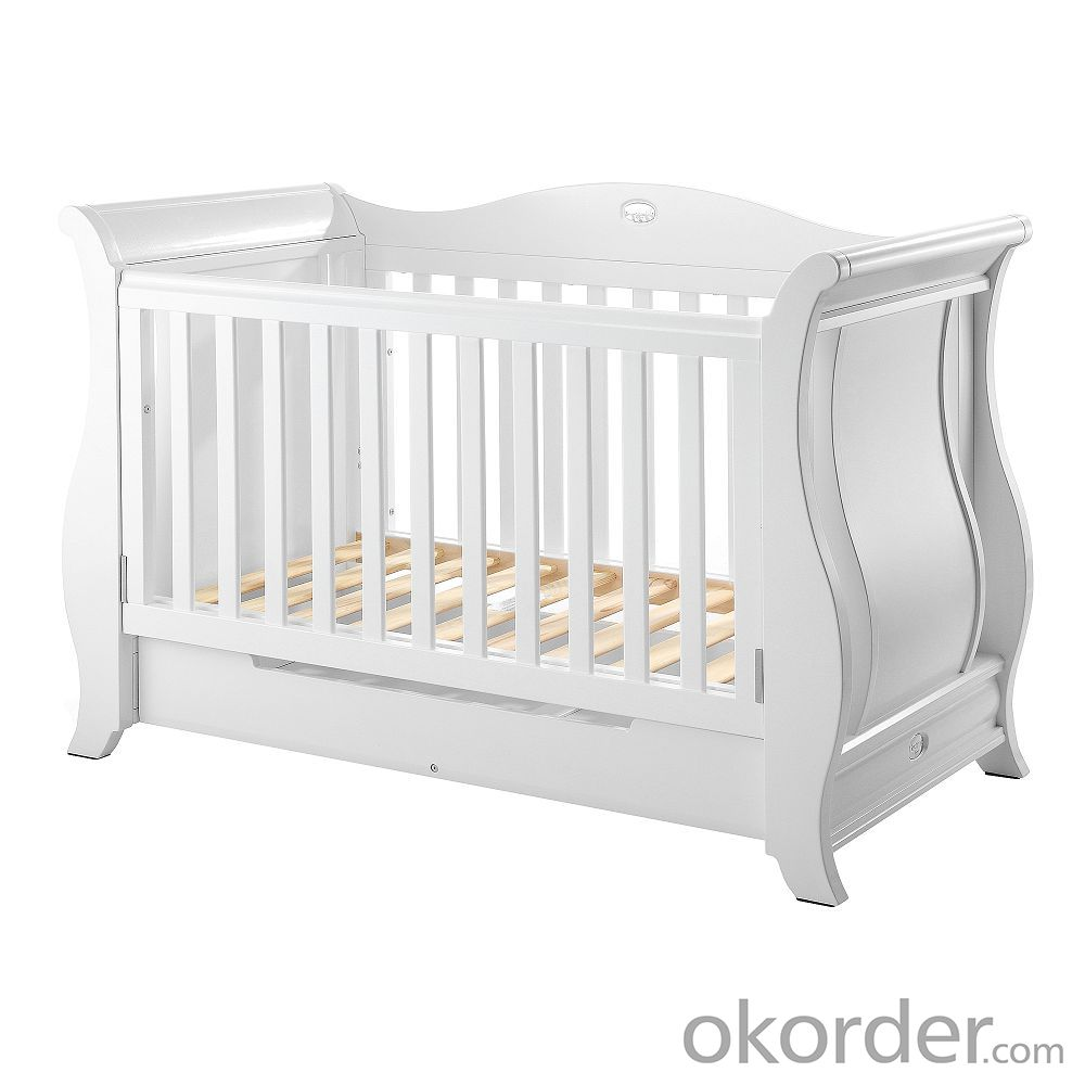 Buy Imperial Sleigh Cot 2016 Hot Sale Soild Wooden Baby Cribs Baby