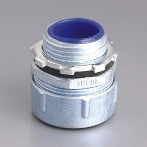 PLUM TYPE MALE FLEXIBLE CONDUIT CONNEXTOR-ZINC