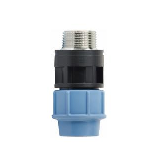 High  Quality  Male adaptor with brass threaded insert