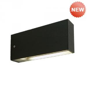 extruded aluminum body PC diffuser  wall light B-140