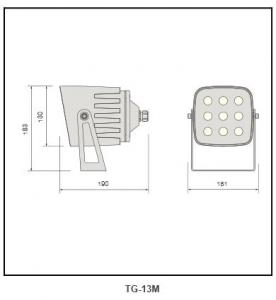 chemical anti-corrosion spot light TG-13M