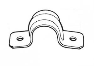 ELECTRICAL CONDUIT TWO HOLE STRAP-STEEL,EMT Two hole strap, EMT 2 hole Strap