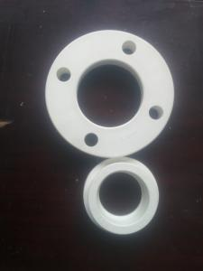 PPR Flange Plastic Pipe Fittings Energy-saving Materials