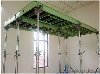150 Series Aluminum Frame Formwork for Roof Construction
