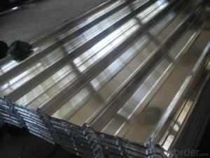 Direct Casting Aluminum Plate in Different Corrugation Profiles