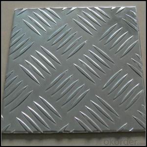 Five Bar Treadplate Aluminium Panel 3003 H22 for Tool Box