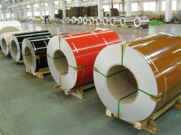 Color Coated Aluminium Coil PVDF painting for Outer Doors
