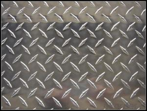 Bright Diamond Aluminium Chequer Plate for Boat Panel