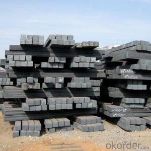 Square Steel Billet, Square Bar, Mild Steel Billet