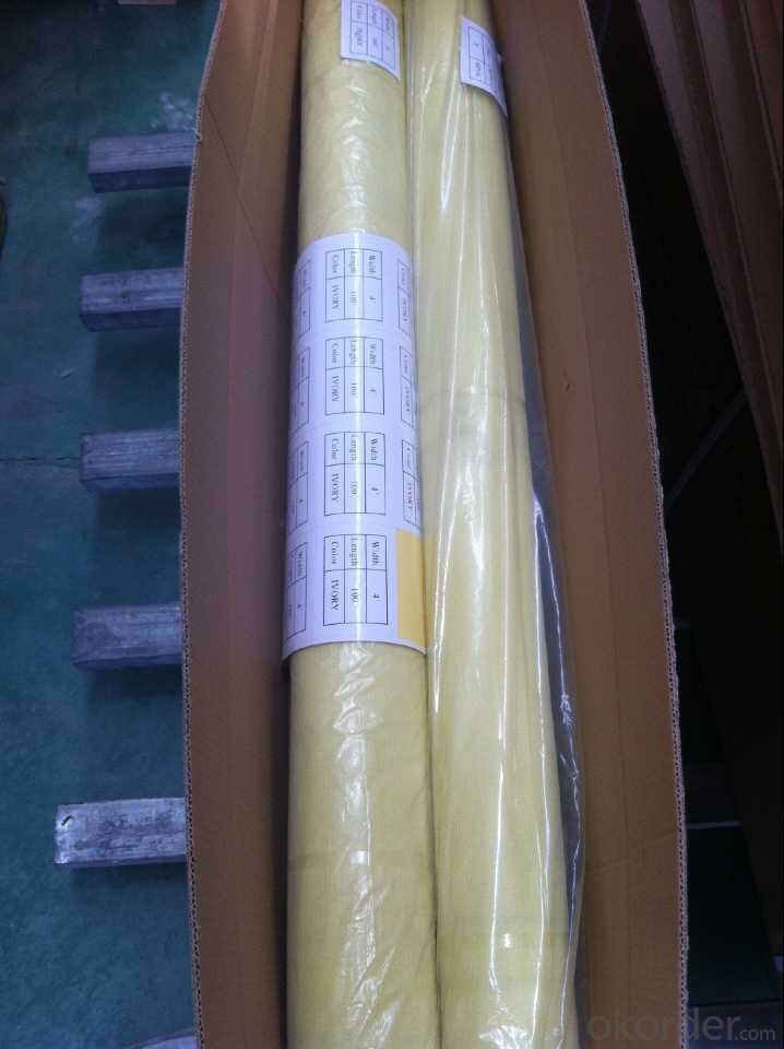 Fiberglass Insect Screen Mesh with Single Plastic Bag