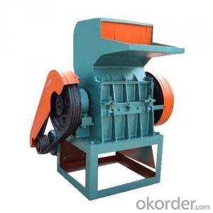 plastic grinding granulator machine for recycling plastic material