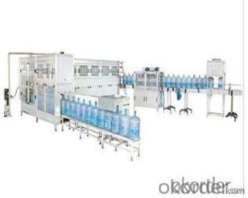 gallon filling production  line for bottles use