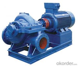 Single Stage Double Suction Horizontal Split Case Water Pump