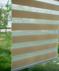 Blackout Zebra blind PVC Jacquard Zebra blind