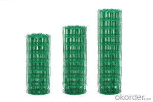 PVC Coated Green Mesh Galvanized Chicken Wire Fencing