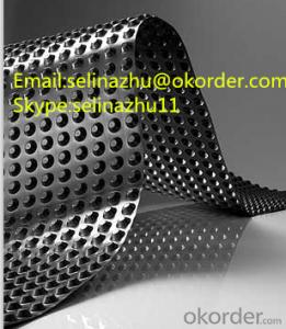 Buy Plastic Dimple Drainage Sheet Drainage Board Price
