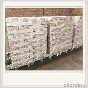 Mg99.80 Magnesium Alloy Ingot Plate Good Quality Ingot