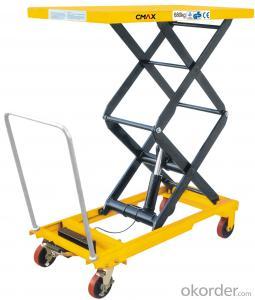 Lift Table Scissor Lift Table Mini Manual Lift Table SPTJ500