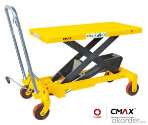 Lift Table Scissor Lift Table U.S. Type Manual Lift Table SP200