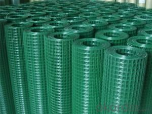 PVC Coated Wire Mesh Fencing Hardware Cloth
