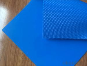 Blue Diamond PVC/PU Conveyor Belt in Food Industry