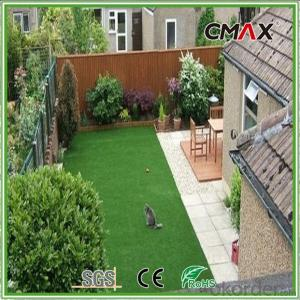 Apartment Balcony Artificial Grass Lawn for Roof Terrace