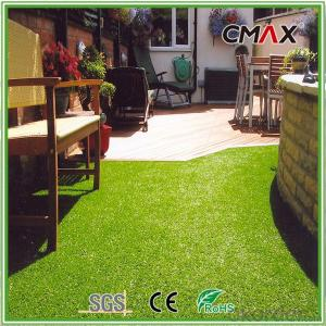Non filling Artificial Grass Lawn for Green Landscaping