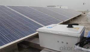 165W Solar Panel with Good Quality Solar Cells