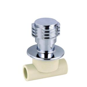 E7 Luxurious Ball Valve Type PPR Double Famale Threaded Brass Ball