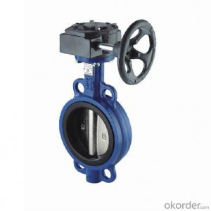 Butterfly Valve  The Pin Spline or Square Connection China