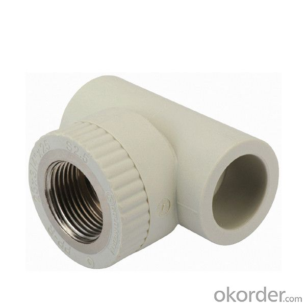 PPR Female Threaded Tee Elbow Plastic Pipe Fittings