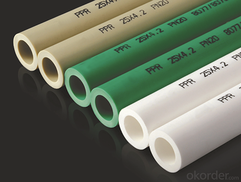 2016 PPR Plastic Pipe China Professional Pipe Supplier