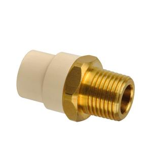 BRASS THREADED MALE ADAPTOR CPVC ASTM D2846