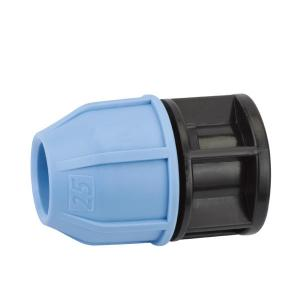 PP END PLUG PLASTIC PP COMPRESSION FITTINGS