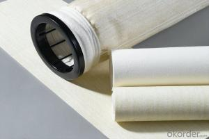 PPS Non Woven dust filter bags for power plant