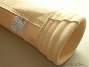 Meta -Aramid non woven dust  Bag Filters used in cement