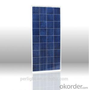 CE and TUV Approved 80W Poly Solar Panel