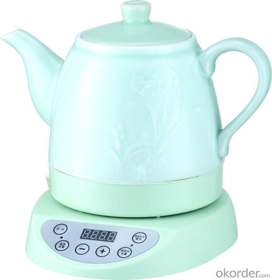 360 rotation celadon pot/cordless kettle