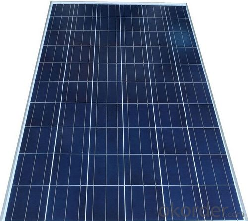 CE and TUV Approved 245W Poly Solar Panel
