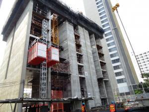 Building Hoist SC320 Single Cage Type Construction Elevator