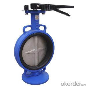 BUTTERFLY VALVE CONCENTRIC U TYPE/ LUG TYPE/ WAFER TYPE DUCTILE IRON DN40- DN1200