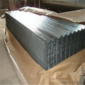 Galvanized Corrugated Iron Sheet for Roofing Type Galvanized Steel Plain Sheet